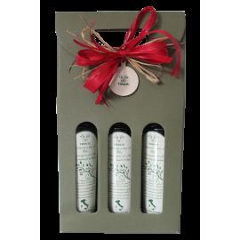 Confezione regalo pasquale-Tris limone