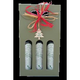 Confezione regalo pasquale-Tris limone peperoncino e bergamotto